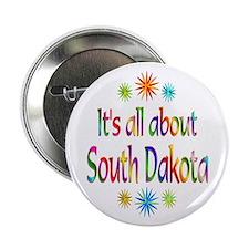 """South Dakota 2.25"""" Button"""