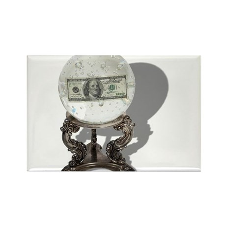 Future of Money Rectangle Magnet