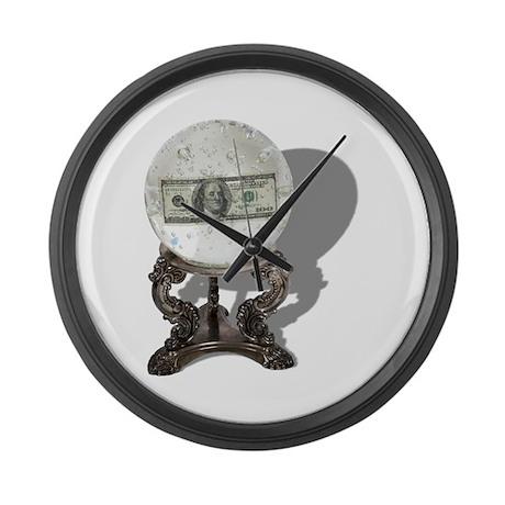 Future of Money Large Wall Clock