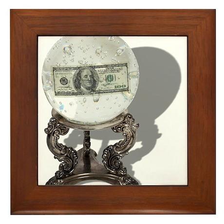 Future of Money Framed Tile