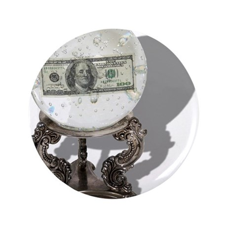 """Future of Money 3.5"""" Button (100 pack)"""