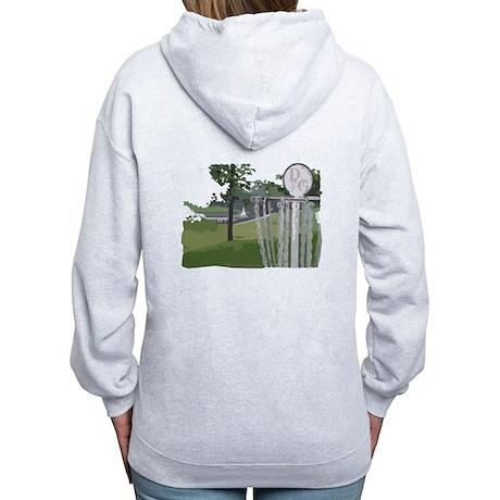 Disc Golf Women's Zip Hoodie