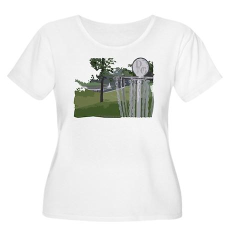 Disc Golf Women's Plus Size Scoop Neck T-Shirt