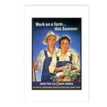 Work on the Farm Postcards (Package of 8)