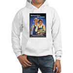 Work on the Farm (Front) Hooded Sweatshirt