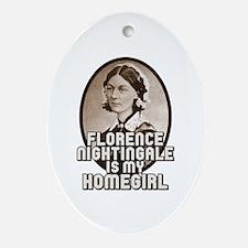 Florence Nightingale Ornament (Oval)