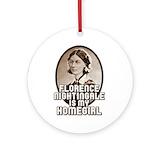 Florence nightingale Porcelain Ornaments