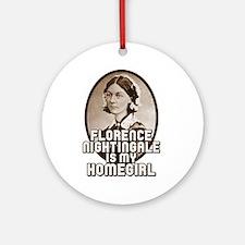 Florence Nightingale Ornament (Round)