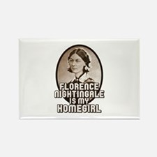 Florence Nightingale Rectangle Magnet