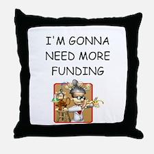 biology research Throw Pillow