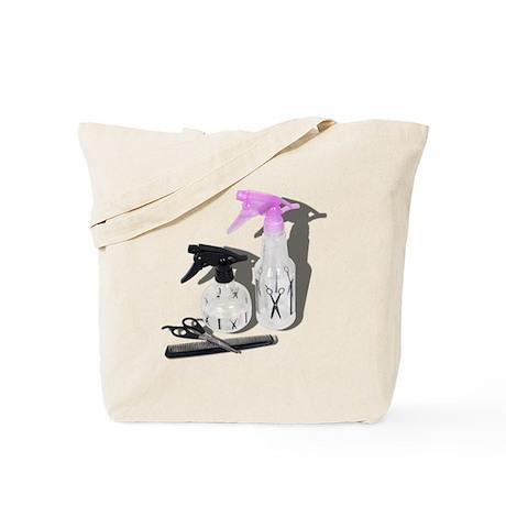 Hair cut spray bottle Tote Bag