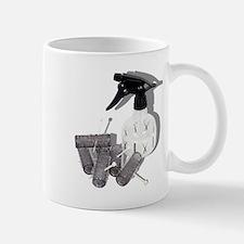 Hair Rollers and Spray Bottle Mug