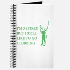 Golf Clubbing Journal