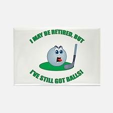Golf Balls Rectangle Magnet