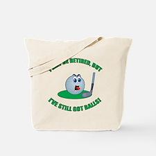 Golf Balls Tote Bag