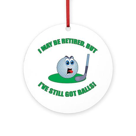 Golf Balls Ornament (Round)