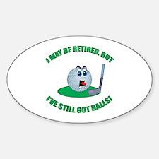 Golf Balls Decal