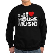 I Love House Music Jumper Sweater