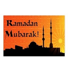 Ramadan Mubarak Postcards (Package of 8)