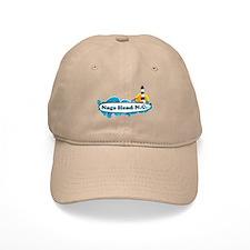 Nags Head NC - Beach Design Baseball Cap