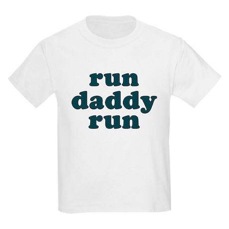 run daddy run Kids Light T-Shirt