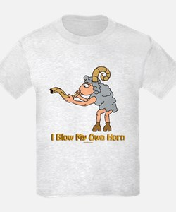 Blow Own Horn Funny Jewish T-Shirt