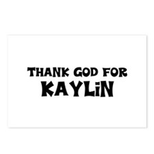Thank God For Kaylin Postcards (Package of 8)