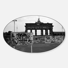 Funny East germany Sticker (Oval)