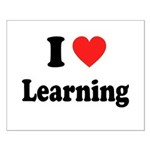 I Love Learning: Small Poster