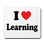 I Love Learning: Mousepad