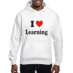 I Love Learning: Hooded Sweatshirt