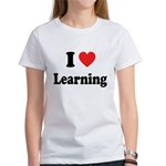 I Love Learning: Women's T-Shirt