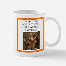 Darts joke Mugs