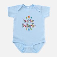 New Hampshire Infant Bodysuit