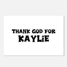 Thank God For Kaylie Postcards (Package of 8)