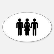 Threesome Decal