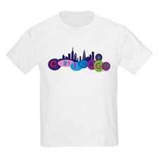Chicago Circles And Skyline T-Shirt