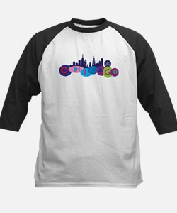 Chicago Circles And Skyline Kids Baseball Jersey
