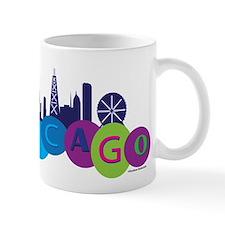 Chicago Circles And Skyline Mug