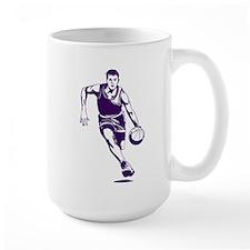 BASKETBALL *1* {purple/white} Mug