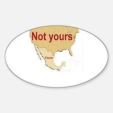 PATRIOTIC Sticker (Oval)