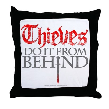 Thieves Throw Pillow