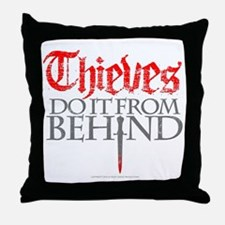 Thieves Throw Pillow