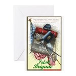 Irish Brigade - Greeting Cards (Package