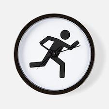 Runner - running Wall Clock