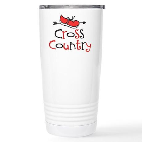 Cross Country Shoe © Stainless Steel Travel Mug
