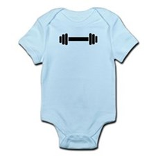 Barbell – weightlifting Infant Bodysuit