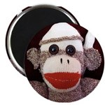 "Ernie the Sock Monkey 2.25"" Magnet (10 pack)"