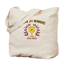Dinner for Winners Tote Bag