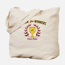 Dinner for Winners Tote Bag